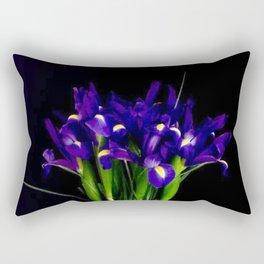 Iris Brings Wisdom and Respect Rectangular Pillow