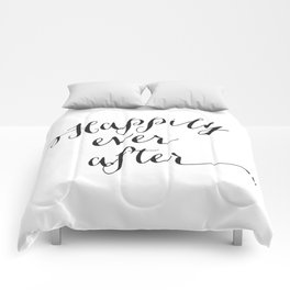 {Happily ever after} Comforters