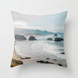 Alone in the beauty of the earth Throw Pillow