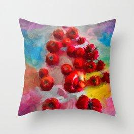 Homegrown Tomatoes Throw Pillow