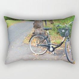 Autumn Bikes Rectangular Pillow