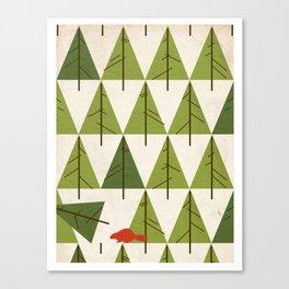 Justa Beaver.  Canvas Print