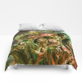 Natural and fractal seedlings Comforters