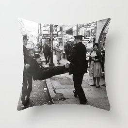 John Lewis Being Arrested After A Sit In,60s Throw Pillow