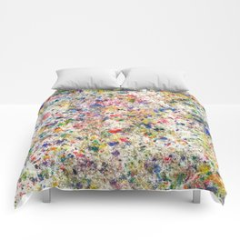 Abstract Artwork Colourful #7 Comforters