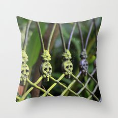 New Orleans - Anne Rice Fence Throw Pillow