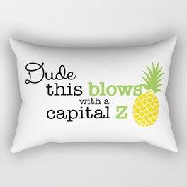 This Blows Rectangular Pillow