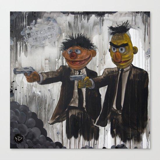 Pulp Street Canvas Print