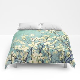Purely Spring Comforters