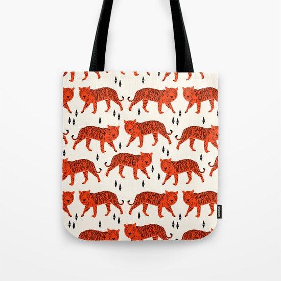 Tiger by Andrea Lauren Design Tote Bag