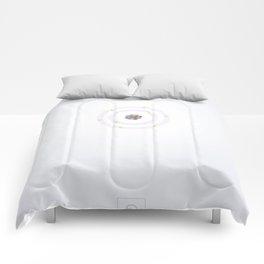 8 Oxygen - Atomic Poster Comforters