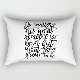 bedroom Quote,Baby Print,Kids Room Decor,Children Quote,Kids Gift,Inspiration,Bedroom Decor Rectangular Pillow
