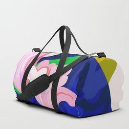 Blue Leaf Duffle Bag