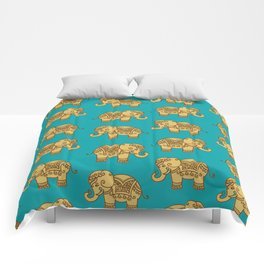 Elephant Pattern Comforters