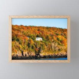 Fall in Nova Scotia. Canada. Framed Mini Art Print