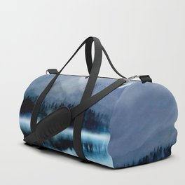 Mountainscape Under The Moonlight Duffle Bag