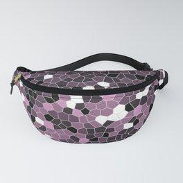 Violet Purple Polycamo Fanny Pack