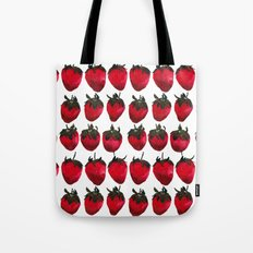 little strawberries Tote Bag