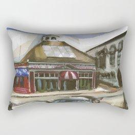Ryan's and The Pelham on Thames, Spring 1998 Rectangular Pillow