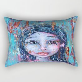 Excavating Soul Rectangular Pillow