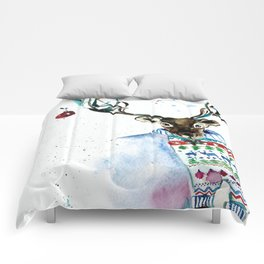 Is it here yet? Comforters