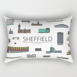 Sheffield Icons Rectangular Pillow