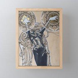 Calligraphica Framed Mini Art Print