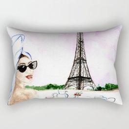 Brunch  in Paris Rectangular Pillow