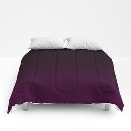 Aubergine Gradient Comforters
