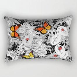 Bugs and foliage Rectangular Pillow
