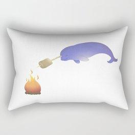 Toasting Marshmallows Rectangular Pillow