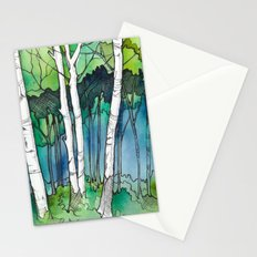Birch Trees II Stationery Cards