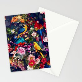 Floral and Birds XLV Stationery Cards
