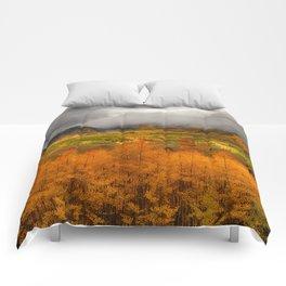 Colorado Fall Colors Comforters