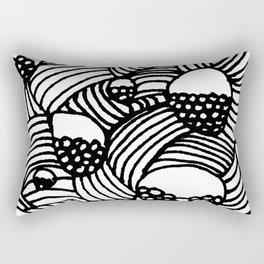 Baubles and Stripes Rectangular Pillow