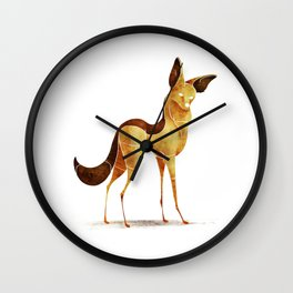 jackal Wall Clock