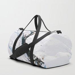 River in winter in Iceland - Landscape Photography Duffle Bag