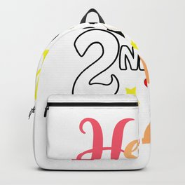 Hello 2nd Grade Cute Panda Back To School Student Gift T-Shirt Backpack