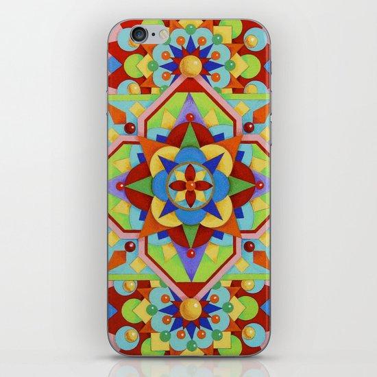 Chartres Mandala iPhone & iPod Skin