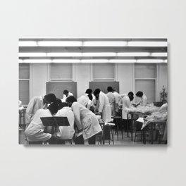 Human Anatomy Lab, University of Chicago , 1976 Metal Print