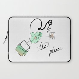 tea but green Laptop Sleeve