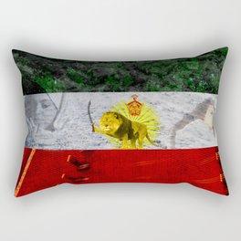 I ran into love Rectangular Pillow