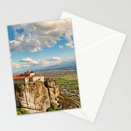 Agios Stephanos Monastery in the Meteora Monastery complex in Greece Stationery Cards