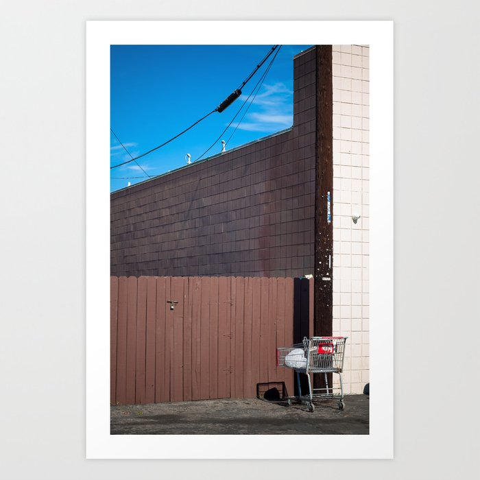 Lonely Carts Club 6 Art Print