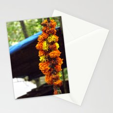 Indian Flowers Stationery Cards