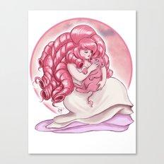 Rose's Lion Canvas Print