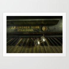 AN eye for music Art Print