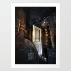 Warning... Enter At Your Own Risk Art Print