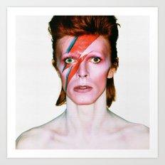David Bowie Portrait Art Print