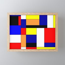 Mondrian #1 Framed Mini Art Print